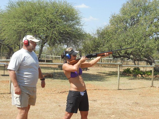 Gauteng, África do Sul: Clay Pigeon Shooting