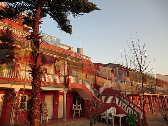 Balthali Village Resort: Früh bei Sonnenaufgang