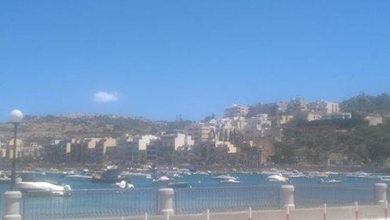 Xemxija, Malta: Breakfast View!