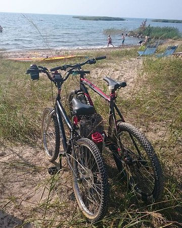 Port Elgin, Canada: Great cottage roads to bike on