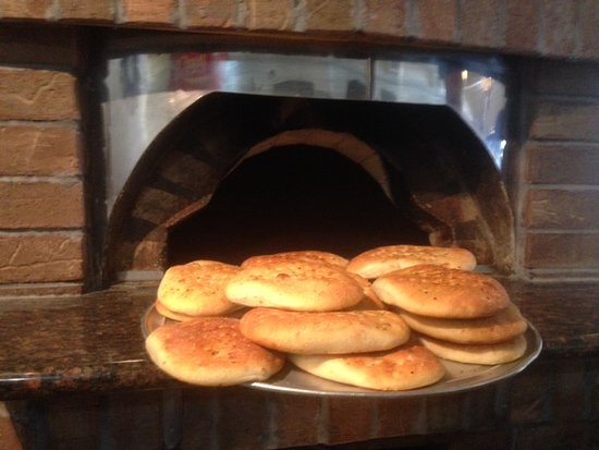 Brunswick, GA: Panninis are servedd on made fresh daily foccacia bread.