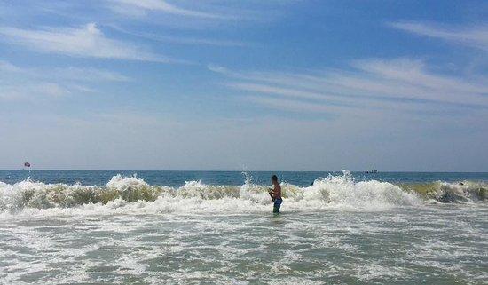 Myrtle Beach Low Tide