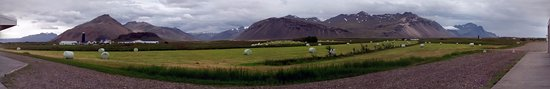 Hofn, Islandia: Room view pano