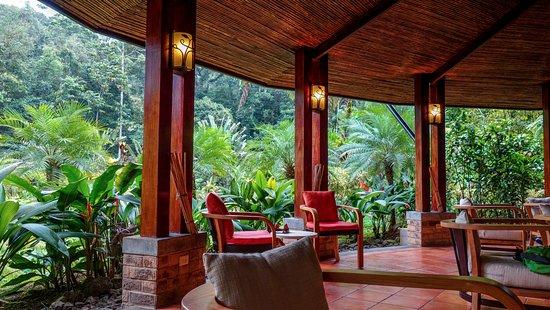 Tabacon Grand Spa Thermal Resort: Open air bar