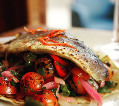 ... sea bass with asian greens grilled sea bass donburi japanese recipe