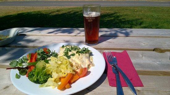Lessingham, UK : Marvelous food
