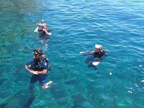 Kardamena, Yunani: Scuba Diving for kids
