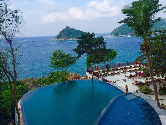 Dusit Buncha Resort: Vista spettacolare!