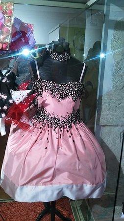 Haribo Museum: robe avec des bonbons