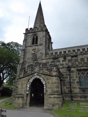 Hathersage, UK: The church
