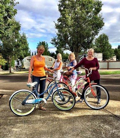 Dayton, OR: Bicycle fun!
