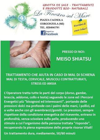 Γκοργκοντζόλα, Ιταλία: shiatsu schiena cervicale