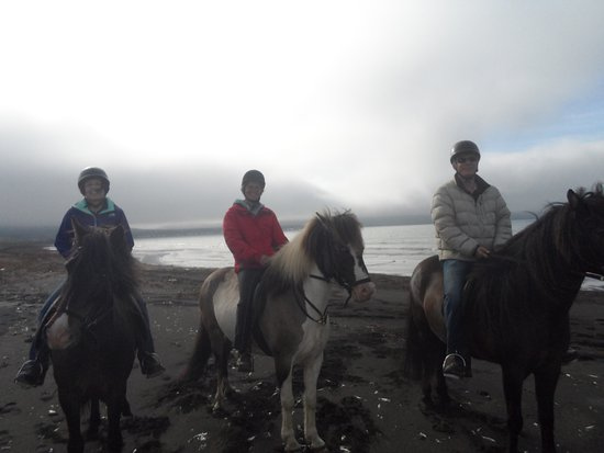 Saudarkrokur, Islandia: Our memorable ride on the beach