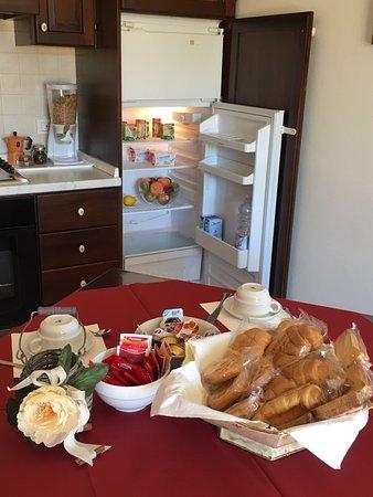 Magione, Italien: colazione self catering