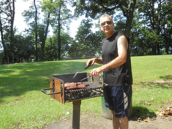 Kings Park, Nova York: BBQ time