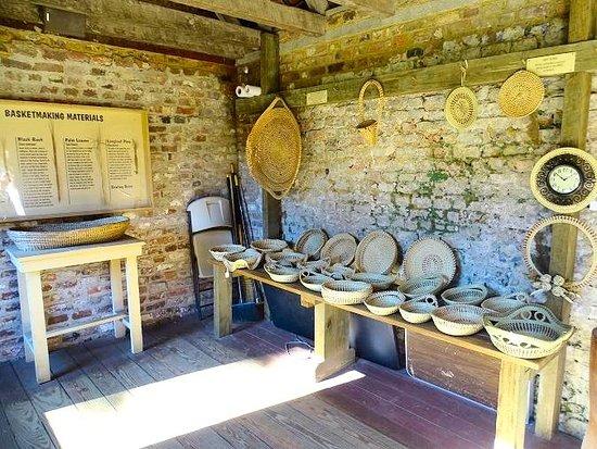 Mount Pleasant, Carolina del Sur: sweetgrass baskets