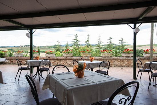 Monteroni d'Arbia, Ιταλία: Terrazza panoramica