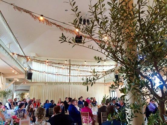 Shanagarry, Irlandia: Grainstore on wedding day