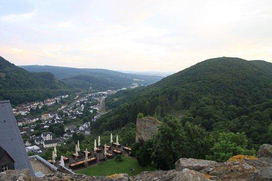 Kirn, ألمانيا: Ausblick von der Burg bei der letzten Station
