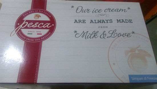 Pesca Ice Cream Cakes