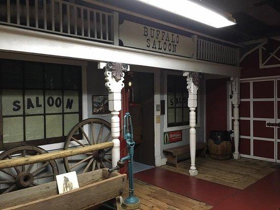 Saint Joseph, MO: The Buffalo Saloon (snack-popcorn & soda)
