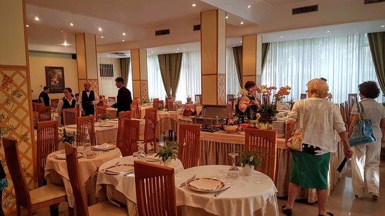 Terme Milano Hotel: sala da pranzo