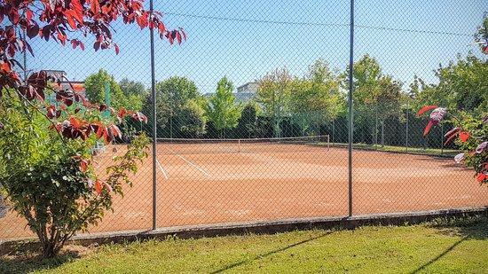 Terme Milano Hotel: campo da tennis