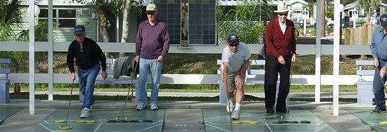 Sun N Fun Resort and Campground: Shuffleboard