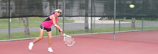 Sun N Fun Resort and Campground: Tennis