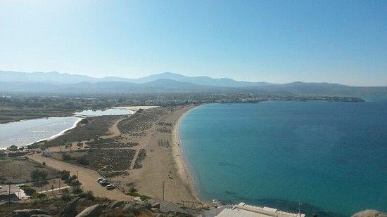 Panorama dall'alto di Agios Prokopios