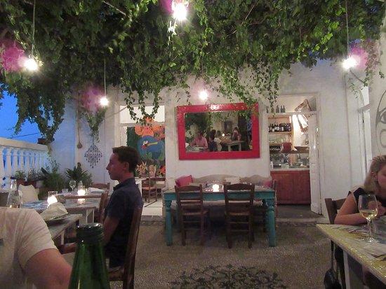 Broccolino Restaurant : Il cortile interno
