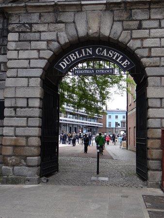 """Dublin Castle: The entrance to the """"Castle"""""""
