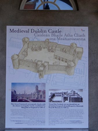 Dublin Castle: Here's what it originally looked like.