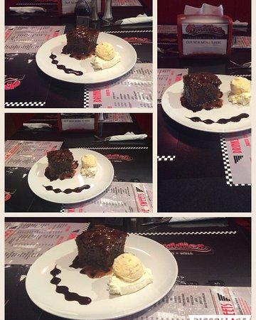 Galashiels, UK : Sticky toffee pudding
