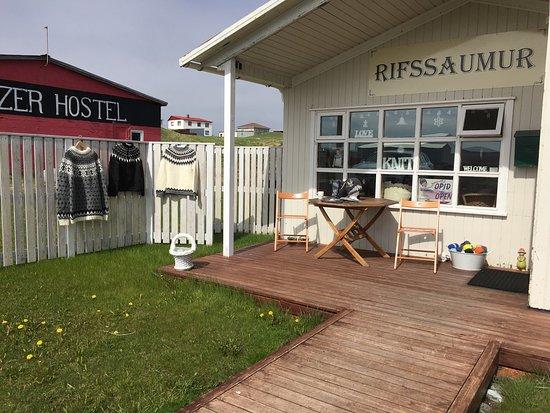 Hellissandur, Islandia: Wool Shop 👍💕💕
