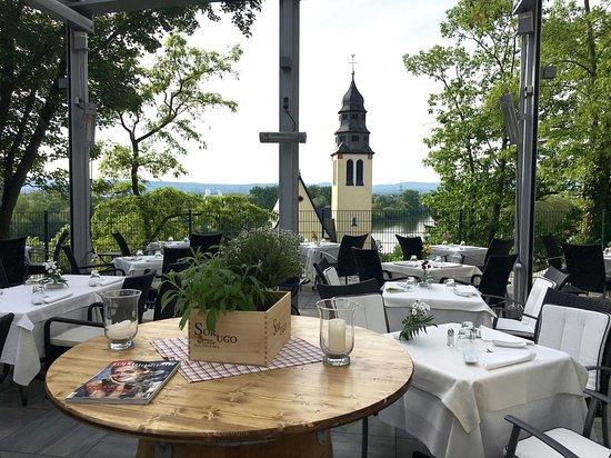 Kelsterbach, Almanya: Terrasse