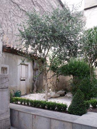 Narbonne, فرنسا: Côté jardin