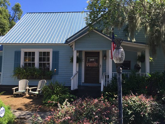 St. Marys, GA: Exterior of Blue Goose