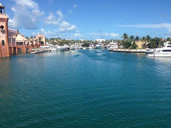 New Providence Island: Good Morning From Atlantis Marina Bahamas