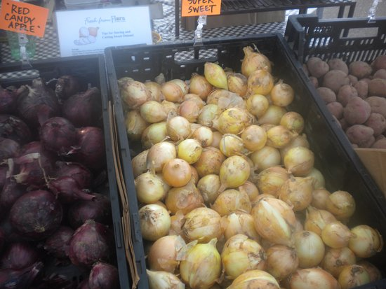 Oxford, Μισισιπής: Several types of onions