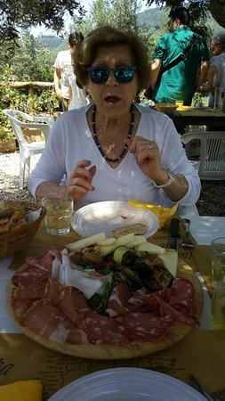 Sesto Fiorentino, Włochy: Il tagliere super!