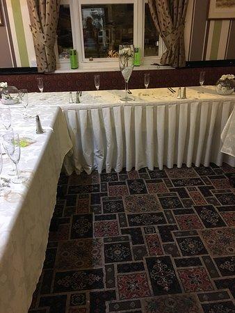 Dukinfield, UK : Wedding downstairs