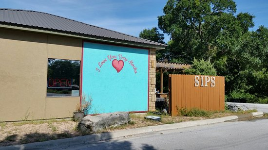 Lampasas, เท็กซัส: Sips serves breakfast and lunch