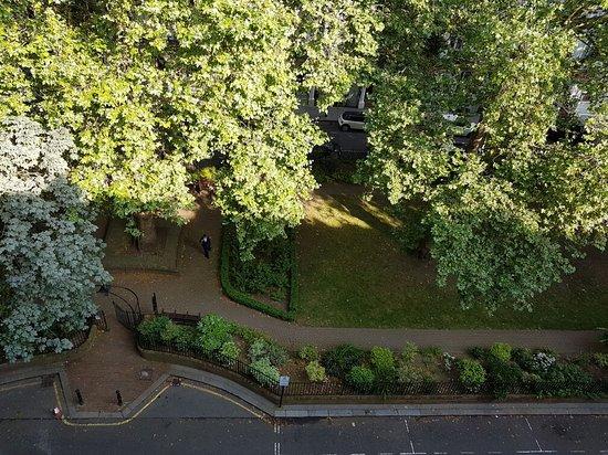 Chrysos Hotel: Der Blick auf dem Park