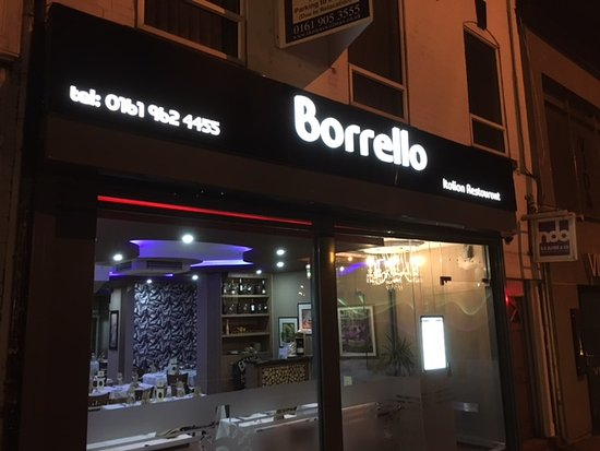 Sale, UK: Borrello Restaurant