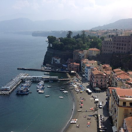 Sorrento from the terrace