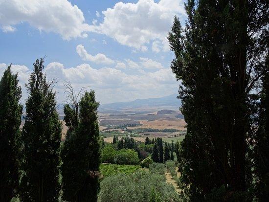 Pienza, อิตาลี: mirador