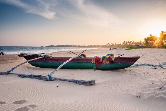 Rekawa, سريلانكا: Beach area at Rekawa beach