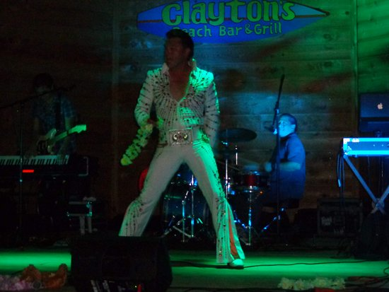 Clayton's Beach Bar and Grill: elvis