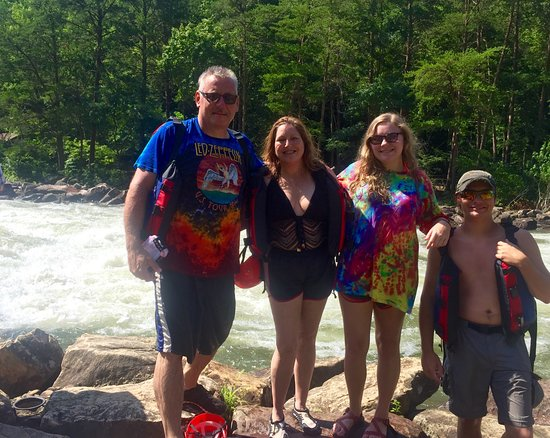 Copperhill, TN: Thank you Kym, from the Scanlon family. Kym was our guide. She was a blessing to have. She knew